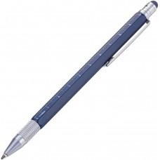 Шариковая ручка Troika Construction SLIM, синяя