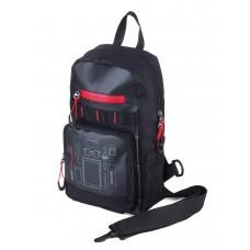 """Рюкзак через плечо """"CROSS BAG"""" чёрный"""