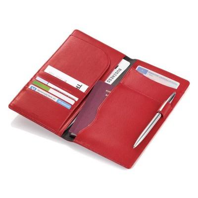 Футляр для документов Colori confidence, красный