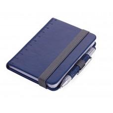 Блокнот Troika Din A7 Lilipad + ручка Liliput, синий