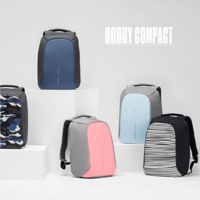 "Рюкзак антивор городской XD Design Bobby Compact 14"", Pastel Blue (P705.530)"