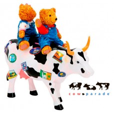 Коллекционная статуэтка корова Teddy Bears on the Moove