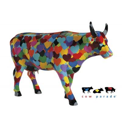 Коллекционная статуэтка корова Heartstanding Cow, Size L
