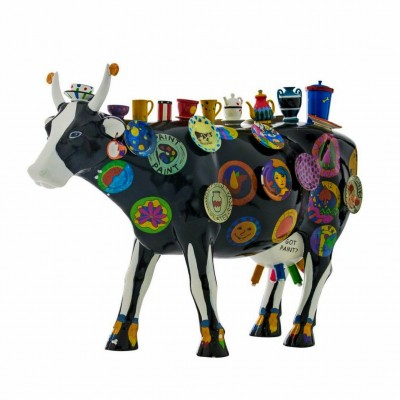 Коллекционная статуэтка корова Moo Potter, Size XL