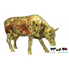 Коллекционная статуэтка корова The Golden Byzantine