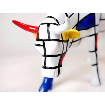 Коллекционная статуэтка корова Moondrian