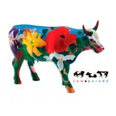 Коллекционная статуэтка корова Georgia O'Cowffe, Size L
