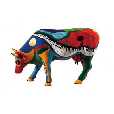 "Коллекционная статуэтка корова ""Moosicowly Speaking"""