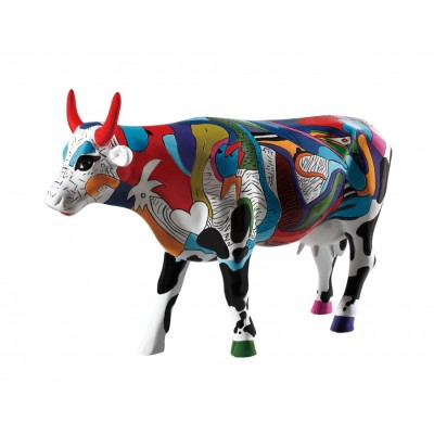 Коллекционная статуэтка корова Ziv's Udderly Cool Cow, Size L