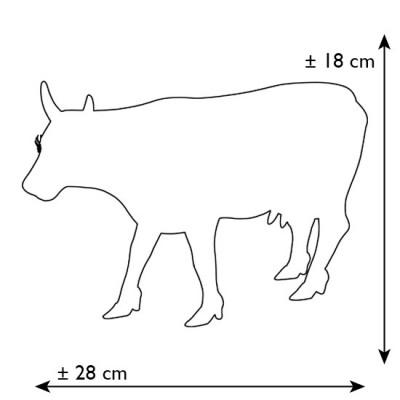 Коллекционная статуэтка корова Paraiso Tropical