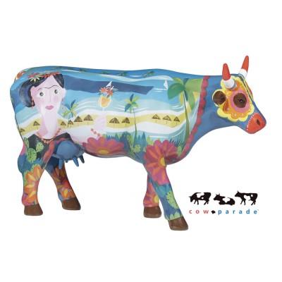 Коллекционная статуэтка корова Frida vai à Cancùn