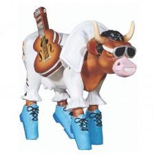 """Коллекционная статуэтка корова """"Rock'n'Roll"""""""