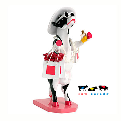 Коллекционная статуэтка корова Alphadite Goddess of Shopping, Size M
