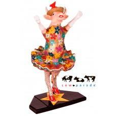 Коллекционная статуэтка корова Dancing Diva, Size M