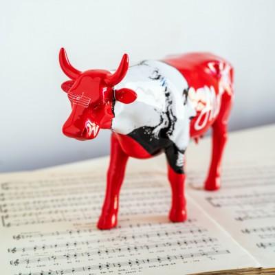 "Коллекционная статуэтка корова Cow Parade ""Moozart"", Size L"
