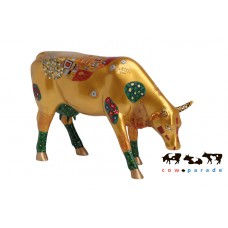 Коллекционная статуэтка корова Klimt Cow