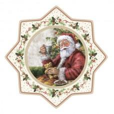 """Блюдо для подачи """"Рождественское дерево"""", фарфор"""