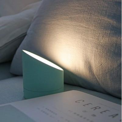 """Будильник-лампа """"THE EDGE LIGHT"""" с регулировкой яркости, зеленый"""