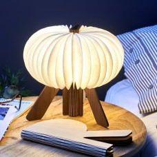 Светильник Gingko R Space Lamp орех
