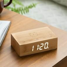 "Смарт-будильник ""FLIP"", дерево бамбук"