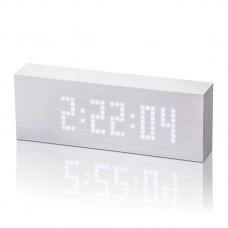 """Смарт-будильник с термометром  """"Click Clock"""", белый"""