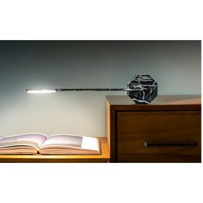 """Светильник """"OCTAGON ONE"""" на 4 уровня освещения, черный мрамор"""