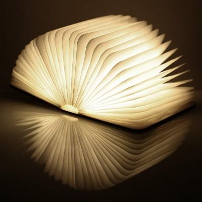 """Светильник-книга """"Smart Book"""", дерево орех"""