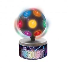 """Светильник """"Мини-диско"""", разноцветный шар"""