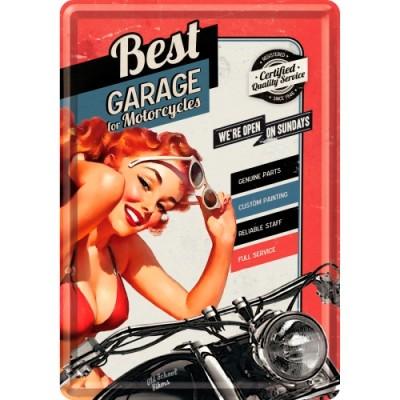 """Открытка """"Best Garage Red"""" Nostalgic Art (10229)"""