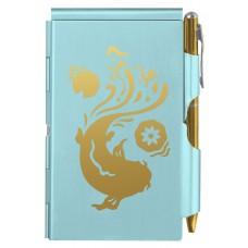 Карманный блокнот с ручкой Troika Koi Fish
