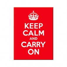 "Магнит 8x6 см ""Keep Calm and Cerry On"" Nostalgic Art (14291)"