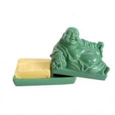 "Подставка для масла ""Будда"", зеленая"