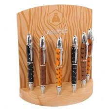 """Ручка шариковая """"Valzergues"""", коричневая"""