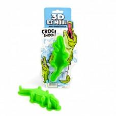 "3D форма для льда ""Крокодил"""