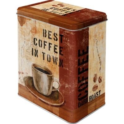 "Коробка для хранения L""Best Coffee in Town"" Nostalgic Art (30110)"