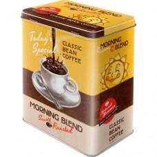 "Коробка для хранения L""Morning Blend"" Nostalgic Art (30116)"