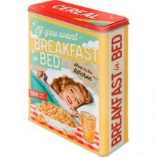 "Коробка для хранения XL""Breakfast in Bed"" Nostalgic Art (30319)"