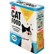 """Коробка для хранения XL""""Cat Food"""" Nostalgic Art (30320)"""