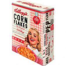 """Коробка для хранения XL""""Kellogg's - Girl Corn Flakes Collage"""""""