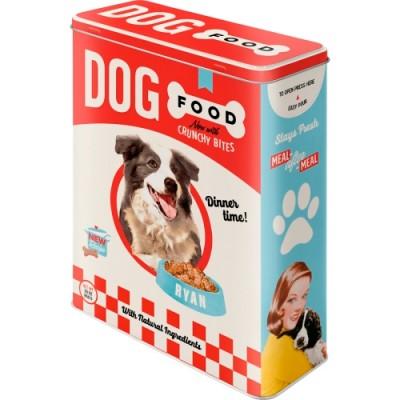 """Коробка для хранения XL""""Dog Food"""" Nostalgic Art (30325)"""
