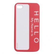 "Чехол для iPhone 4/4S ""Hello"""