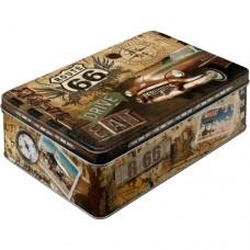 "Коробка для хранения ""Route 66 Road Trip"""