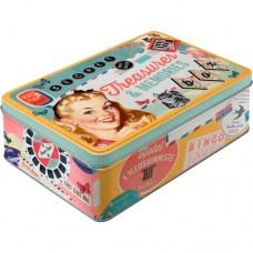"""Коробка для хранения """"Treasures & Memories"""" Nostalgic Art (30710)"""