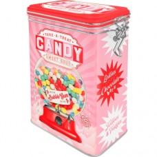 "Коробка с фиксатором ""Candy"" Nostalgic Art (31106)"