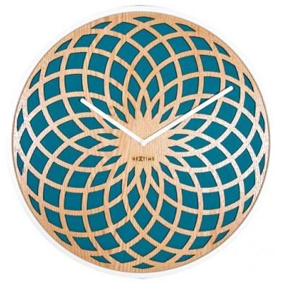 """Часы настенные """"Sun Small Turquoise"""""""