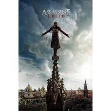 "Постер ""Assassin's Creed Movie (Spire Teaser)"""