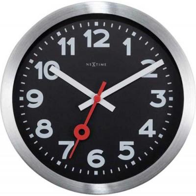 "Часы настенные ""Station Number"", черные"