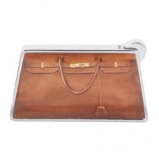 """Зажигалка """"Дамская сумочка"""" коричневая"""