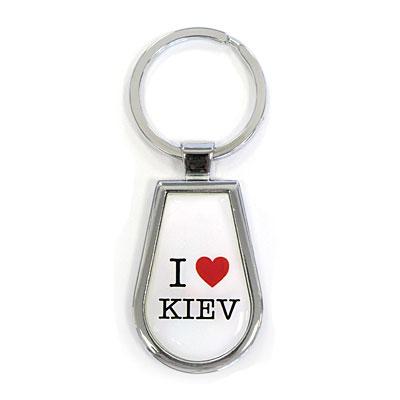 "Брелок ""I Love Kiev"", белый"