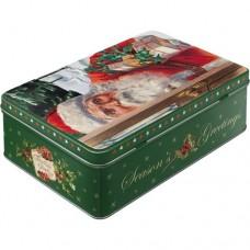 """Коробка для хранения """"Santa Clouse"""""""
